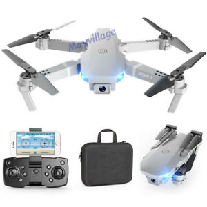 Camera-Drone-Foldable-Aircraft-RC-Quadcopter-Wide-Angle-HD-Selfie-FPV-Wifi-4K