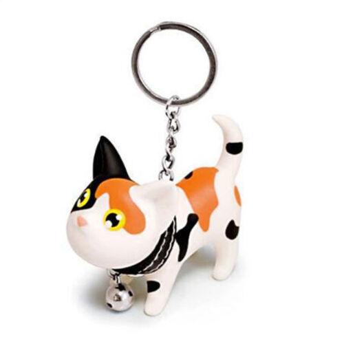 Queue Mignon Chat Chaton Kitty Bell Ball Porte-clés Keychain Toy Sac à main Charm