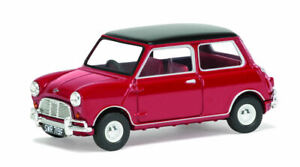 Mini Cooper S Mk1 Tartan Red & Black 1:43 Model VANGUARDS