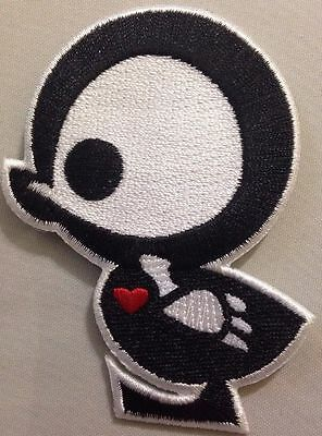 """Skelanimals Chick Quakee Iron On Patch Approx 2""""x3"""""""