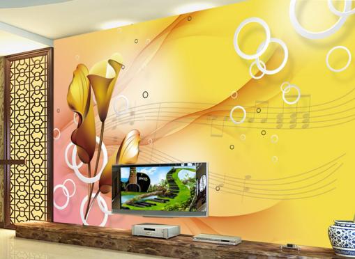 3D Sheet Music 809 Wall Paper Murals Wall Print Wall Wallpaper Mural AU Kyra