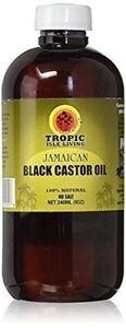 Tropic-Isle-Living-Jamaican-Black-Castor-Oil-8-oz-Plastic-PET-Bottle