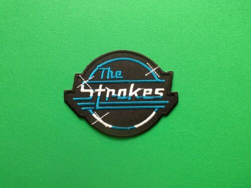 IRON ON PATCH: HEAVY METAL PUNK ROCK MUSIC FESTIVAL SEW ON THE STROKES