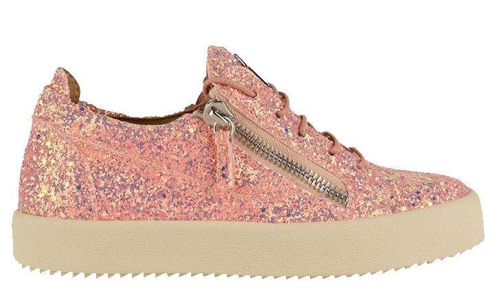 Giuseppe Zanotti puede Brillo Zapatillas Sneakers Size 6 UK > 39 UE  Nuevo