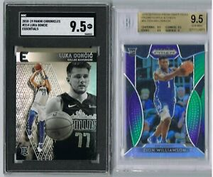ZION-WILLIAMSON-Purple-Green-Prizm-98-199-BGS-9-5-2018-Luka-Doncic-Chronicles