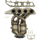 Exhaust Manifold with Integrated Catalytic Converter-Direct Fit Front 40900
