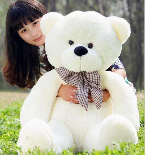 Giant Big Hung teddy bear Stuffed Animal Plush Baby soft toys doll Birthday gift