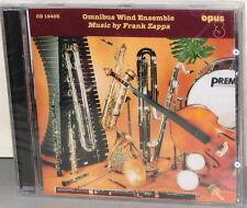 OPUS 3 CD 19403: Omnibus Wind Ensemble - Music by Zappa - OOP 2002 SWEDEN SEALED