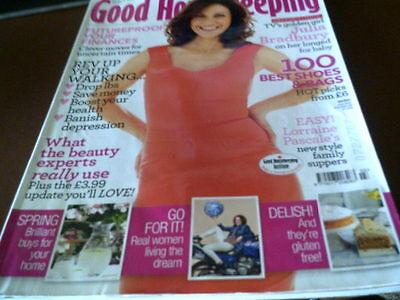 2b16925ee906 Good Housekeeping Magazine March 2012 Julia Bradbury