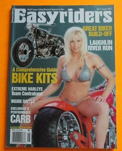 EASYRIDERS-MAGAZINE-AUG-2003-COVER-GIRL-PICTORIAL-GREAT-BIKER-BUILD-OFF