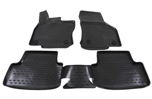 NFLAU701 3D Design Gummimatten Gummifußmatten Audi A3 8V Schrägheck ab 2012 4tlg