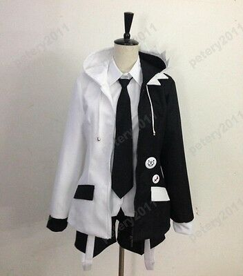 Black and White Anime Danganronpa 2 Monokuma Cosplay Costume