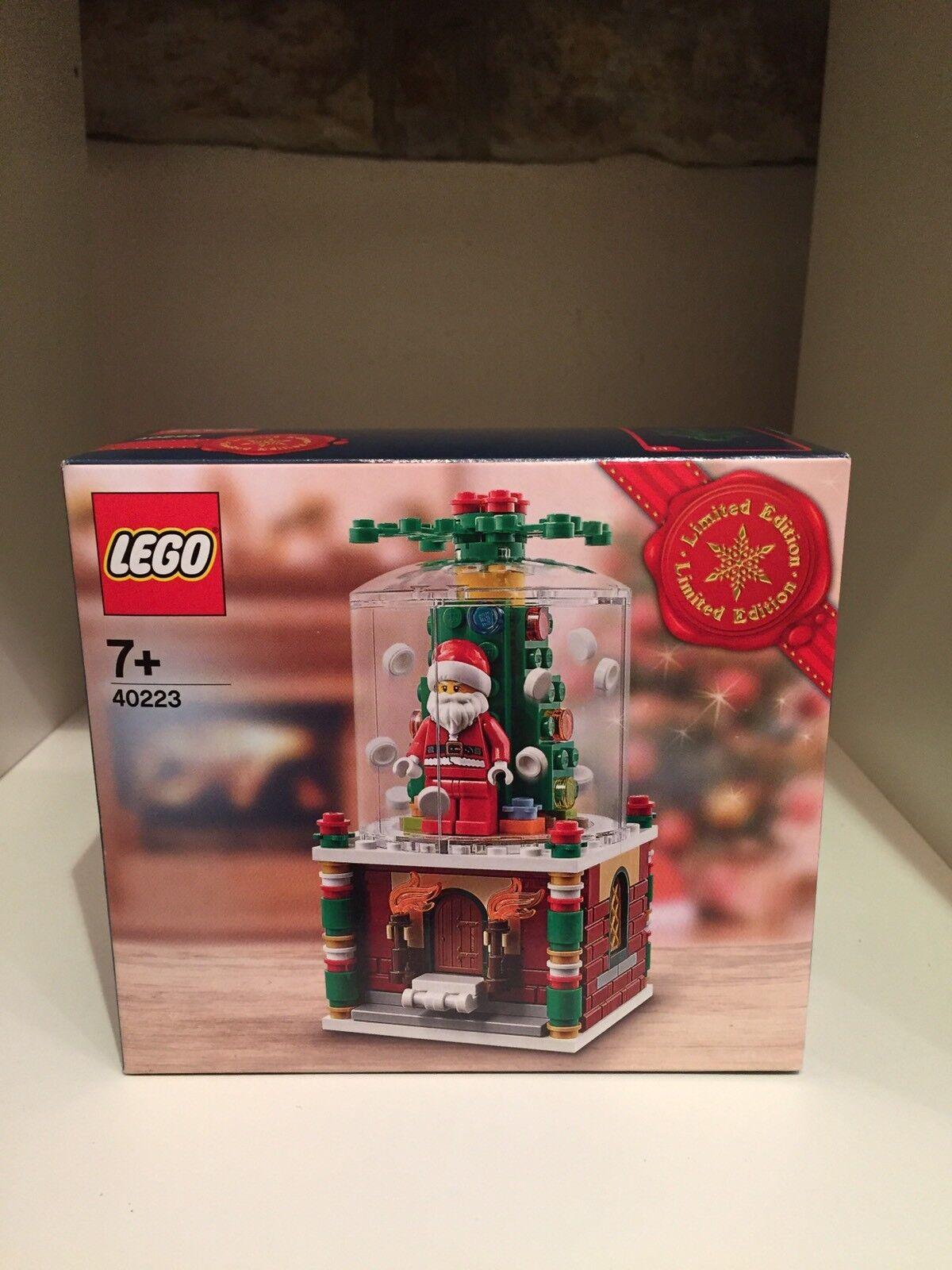 LEGO 40223 SNOWGLOBE EXCLUSIVE LIMITED EDITION CHRISTMAS 2016 BNIB SEASONAL NEW