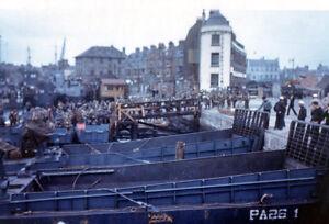 8x6-Photo-ww1AC-Normandy-UK-Weymouth-LCI-L-039-844-97-LCH-87-Lcm-USS-Samuel-Chase