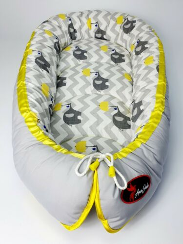 Baby nest pod cocoon XL SIZE 0-12 months BIGGEST RANGE OF HIGH QUALITY NESTS