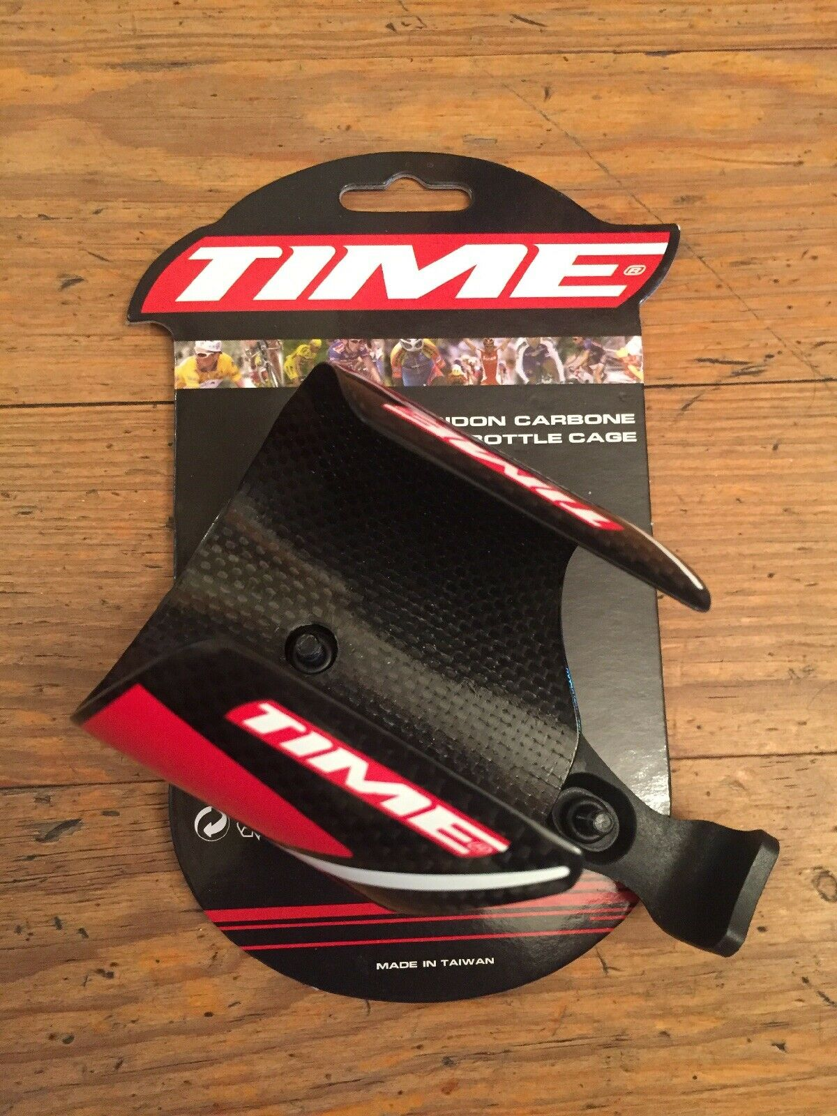 Time Carbon Road Bike Water Bottle Cage