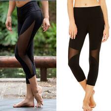 ff920f451aee2 item 2 Women s High Waist Yoga Pants Pocket Fitness Sports Capri Leggings  Plus Size OB -Women s High Waist Yoga Pants Pocket Fitness Sports Capri  Leggings ...