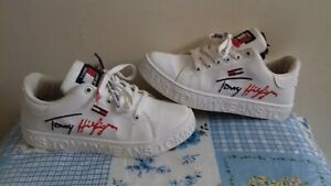 Girl's Tommy Hilfiger Tommy Jeans White