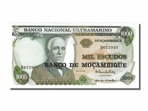 Unc Obliging #251935 Mozambique 1972-05-23 65-70 Km #119 1972 B Factory Direct Selling Price 1000 Escudos