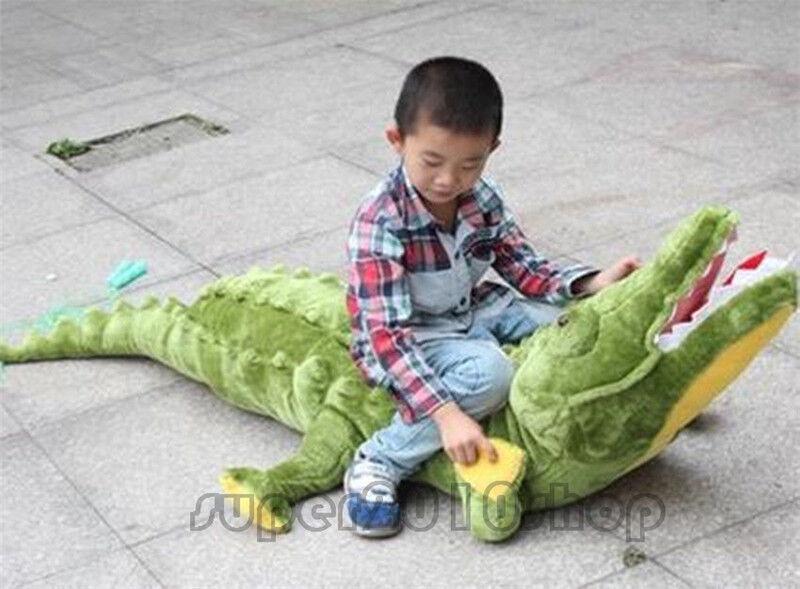 47 '' riesen - riesen krokodil stofftiers stoffalligator tierische puppen dekokissen