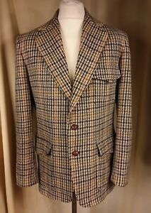 By C38 Brown 60s Jacket Black Civity Green Norfolk Tweed White Riding Harris x7nwqvAf