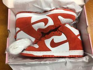 huge selection of aeebe 0ed76 Image is loading 2005-Nike-Dunk-High-Pro-Sb-Syracuse-305050-
