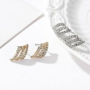 New-Fashion-Women-Lady-Elegant-Crystal-Rhinestone-Ear-Stud-Earrings-Jewelry
