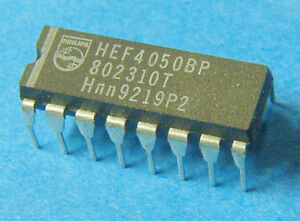 Lot 2 x  HEF4050BP