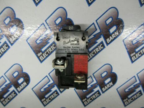 1 POLE Pushmatic Circuit Breaker WARRANTY ITE//Siemens P120 20 AMP