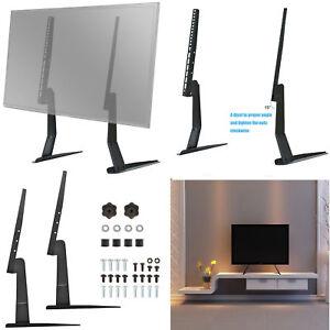 Universal Tv Stand Base Tabletop Vesa Pedestal Mount For