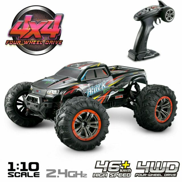 Remote Control Cars >> Hosim Rc Car 1 10 Scale 4wd 2 4ghz Off Road Remote Control Monster Truck 9125