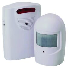 Wireless Driveway Alert System. Door Chime Motion Sensor Hallway Alarm Security