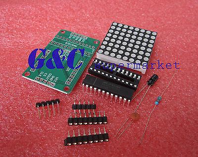 1pcs MAX7219 Dot matrix module  MCU control Display module DIY kits M35