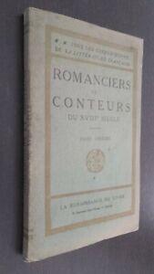 Novelistas Y Narradores de Cuentos La XVIII Siglo Renacimiento Libro Pin ABE