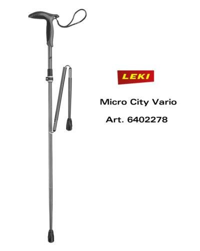 Leki Micro City Vario Ami de Randonnée / Randonneur Vitesse Lock 2