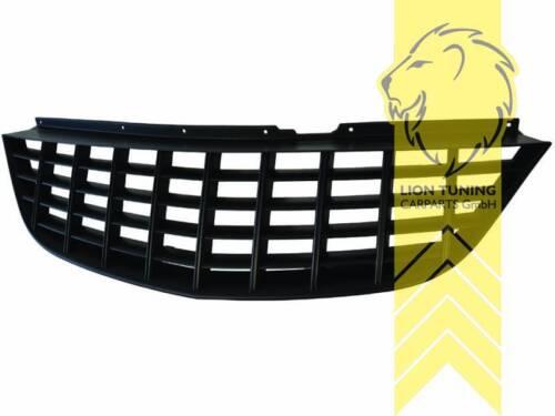 Sportgrill Kühlergrill für Opel Corsa D schwarz