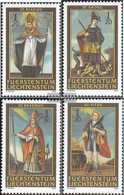 kompl.ausg. Aufstrebend Liechtenstein 1326-1329 Postfrisch 2003 Nothelfer