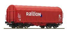 ROCO 51281.W1 H0 Schiebeplanenwagen »RAILION«, DB-AG, Ep. V                 #412