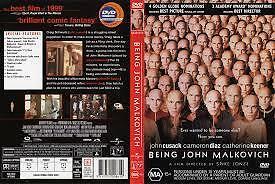 1 of 1 - Being John Malkovich (DVD), R-4, VERY GOOD, FREE SHIPPING
