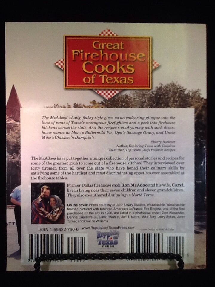 great firehouse cooks of texas mcadoo ron mcadoo caryl