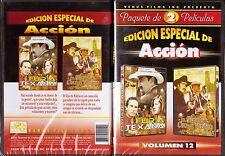 Edición Especial De Acción Volumen 12 2pk, MARIO ALMADA, Furia Texana y El Hijo