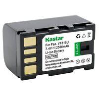 1x Kastar Battery For Jvc Bn-vf815 Gs-td1 Gy-hm70u Gy-hm100u Gy-hm150u Gz-hmz1u