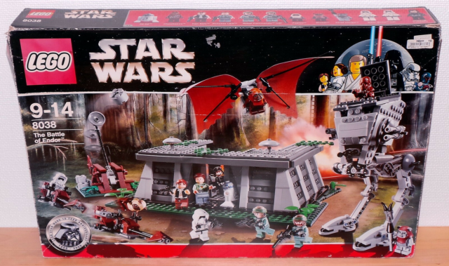 Lego Star Wars, 8038, The Battle of Endor, 2009.  Alle…