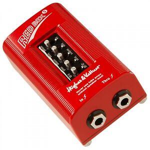 hughes kettner red box 5 guitar cabinet simulator di box ebay. Black Bedroom Furniture Sets. Home Design Ideas
