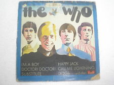 THE WHO THE BEST OF THE WHO POLYDOR STEREO RARE LP record vinyl INDIA 274 VG-