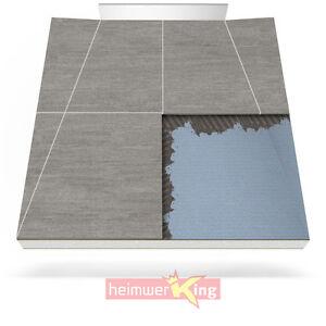 duschelement wandablauf duschboard duschtasse befliesbar bodeneben bad dusche ebay. Black Bedroom Furniture Sets. Home Design Ideas