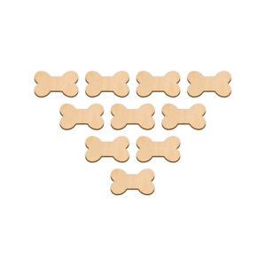 Small Bone Shape Craft Blank 3 2x1 9cm Birch Wood Decoration Embellishment Tag Ebay