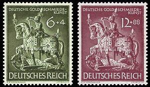 EBS-Germany-1943-Goldsmiths-039-Society-Goldschmiedekunst-Michel-860-861-MNH