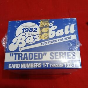 1982 Topps Traded Set Cal Ripken Jr. RC Tape Intact 🔥 RARE - Factory Sealed 🔥