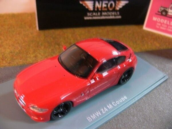 1 43 Neo BMW Z4 M Coupe rot 44466